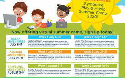 Gymboree Play & Music Thousand Oaks Virtual Summer Camp is Now Open!
